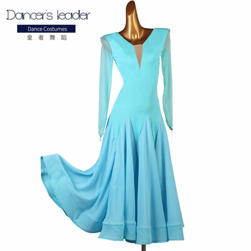 New ballroom dance competition dress dance ballroom waltz dresses standard dance dress women ballroom dress