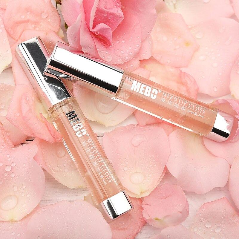 MEBO Moisturizing Nourishing Lip Gloss Reduce Fine Lines Repairing Lip Care Serum Lip Plumper Lip Mask