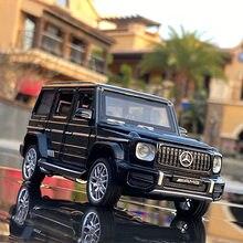 1:32 Benz-G63 suv liga modelo de carro diecasts & brinquedo veículos fora de estrada brinquedo carro de metal coleção brinquedo do miúdo brinquedos para crianças presentes