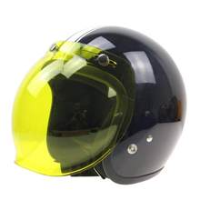 Open Helm Vizier Motorhelm Bubble Vizier Casco Moto Vizier Lens Capacete Bubble Shield Motorhelmen Accessorie