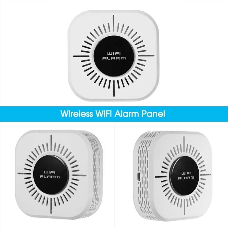 Household Practical Intelligent Induction Doors Andwindows WiFi Network Burglar Infrared Alarm Kits