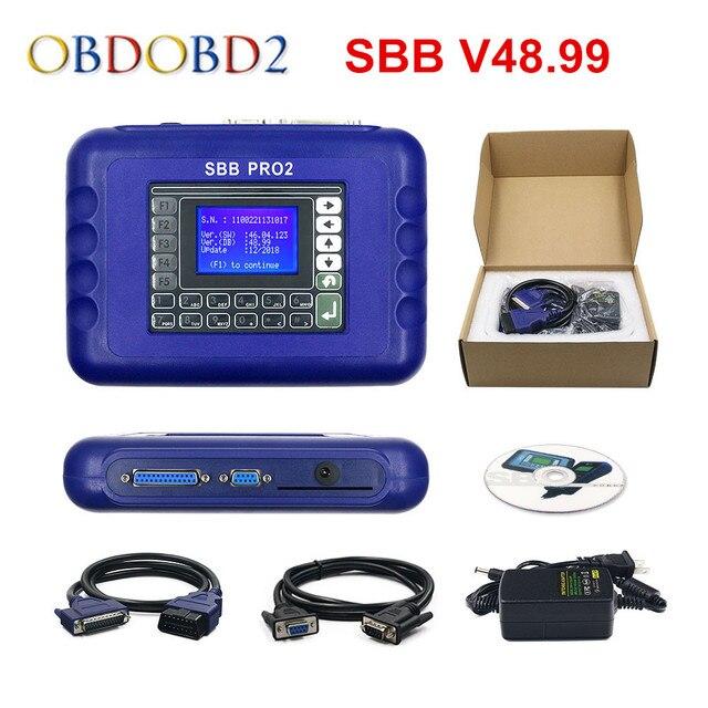Newest V48.99 /V48.88 SBB Pro2 Auto Key Programmer Support New Cars to 2017 SBB 48.99 Better Than V46.02 SBB Key Maker Free Ship