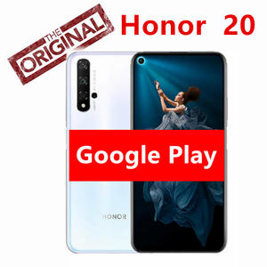 Original honor 20 honor20 Cell phone Kirin 980 Octa Core 8G RAM 256G RAM 6.2 inch 3750mAh Super Charge Bluetooth