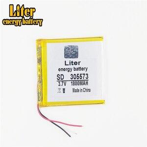 Image 3 - 3 линейная литровая энергетическая батарея 305573, 3,7 в, 1800 мАч, 305570, 305575, литий ионные/Полимерные литий ионные батареи