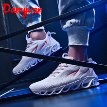 Damyuan 2019  New Air-permeable mens sports basketball shoes in autumn and winter, comfortable jogging leisure