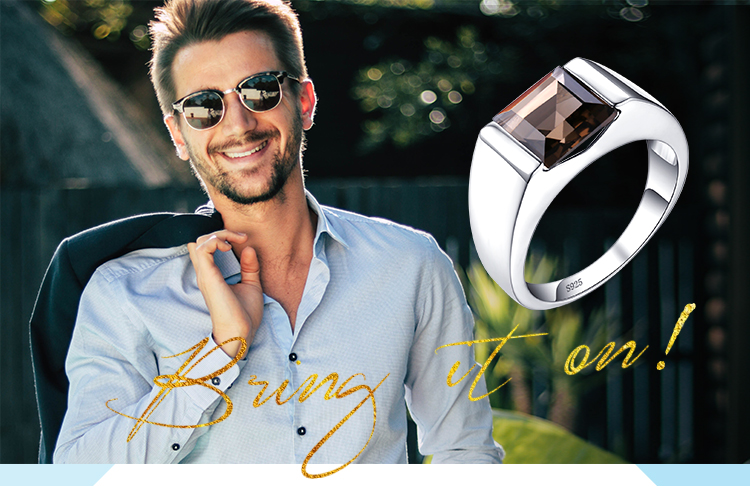 H3c0c67dc38a2480bb66c91dbfef7f0a8z JewPalace Genuine Smoky Quartz Ring 925 Sterling Silver Rings for men Wedding Rings Silver 925 Gemstones Jewelry Fine Jewelry