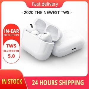 Auriculares Air Pro TWS casque sans fil Bluetooth écouteur casque intelligent tactile Air écouteurs avec étui Blackpods Pro 3 Fo(China)