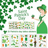St Patricks Day Decorations One-time Waterproof Day Carnival Kids Tattoo Stickers Saint Patricks Day Costume Party Decor Supplie 4