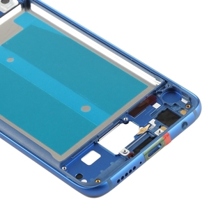 """Image 4 - Original Front Frame For 5.84"""" Huawei Honor 10 Front Frame Middle Frame Bezel Housing With Power Side Buttons"""