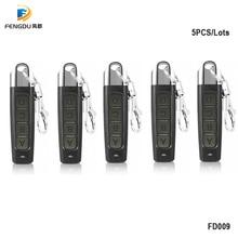 10PCS 433MHZ Remote Control 4 Channe Garage Gate Door Opener Remote Control Duplicator Clone Cloning Code Car Key