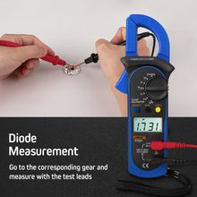 Digital Clamp Multimeter ST-201 True RMS LCD Multifuction Ohm DC AC Voltmeter AC Ammeter Data Tester for tools