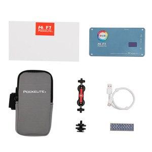 Image 5 - FalconEyes F7 12W RGB LED Mini poche sur caméra lumière magnétique avec 18 effets spéciaux Mode Portable pour la photographie vidéo/Photo