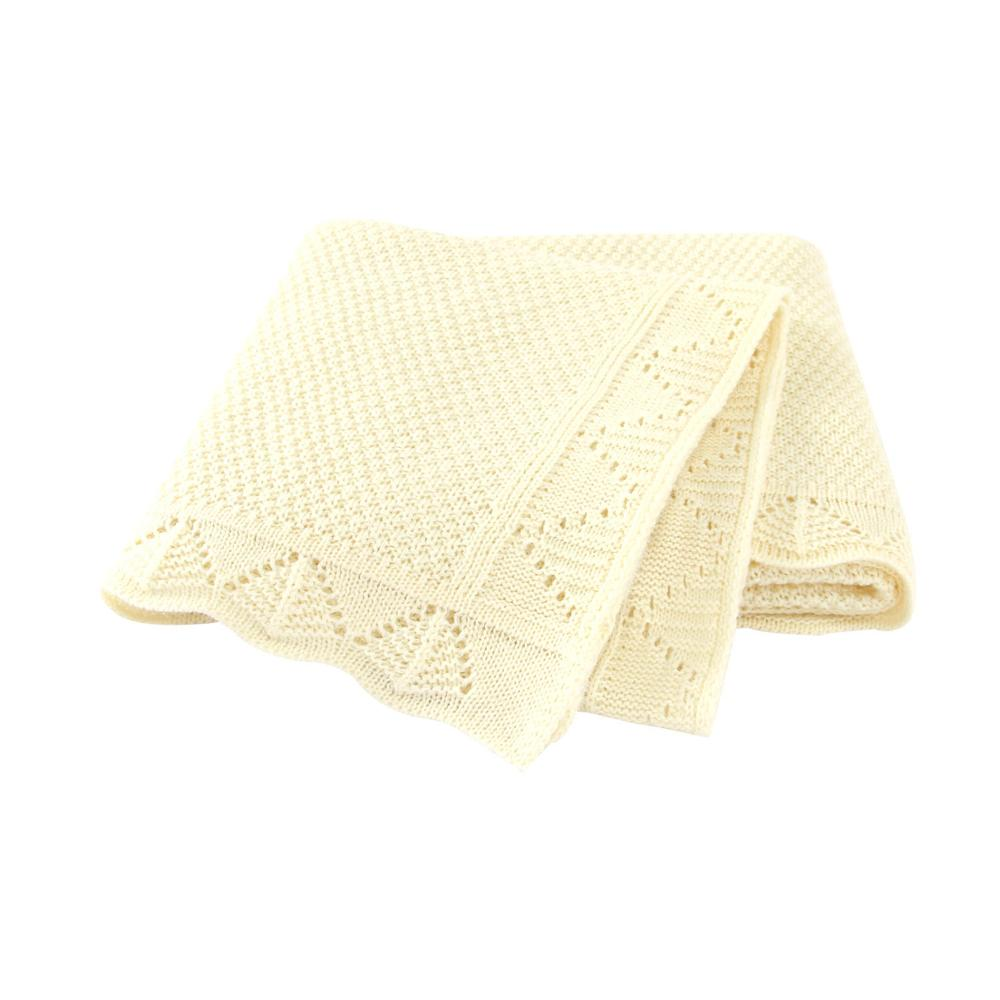 Baby Blankets Knitted Newborns Bebes Swaddle Wrap Blankets 100*80cm Infantil Boys Girls Stroller Bedding Covers Quilts