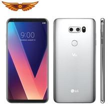 LG-teléfono inteligente V30 H930DS, Original, desbloqueado, Octa Core, 6,0 pulgadas, 4GB de RAM, 64GB de ROM, cámara trasera de 16.0MP, 3 cámaras, LTE, huella dactilar