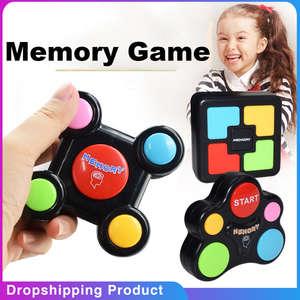 3pcs Memory Game Creativity Toys With Lights and Sounds Baby Educational Toy Quiz Game brinquedos toys for children Puzzle