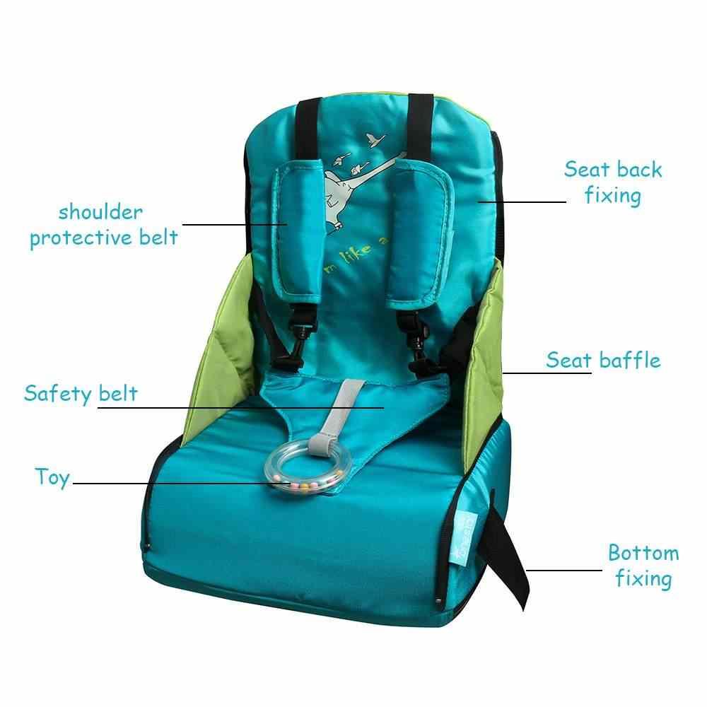 แบบพกพาเก้าอี้รับประทานอาหารกระเป๋าพับเด็กกระเป๋าเดินทางเด็กกระเป๋าผ้าอ้อมทารกแรกเกิดพยาบาล Dining Feeding ความปลอดภัยที่นั่ง