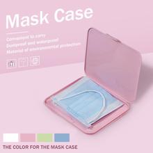 Przenośny futerał na maskę pyłoszczelna wodoodporna torba do przechowywania zapobieganie zanieczyszczeniom usta maski przypadki wielokrotnego użytku nie w tym Mascarilla tanie tanio Pillowgames CN (pochodzenie) osobiste NONE Jednorazowego użytku Dla osób dorosłych cotton unisex Mascarillas masque mouth mask 2021 New