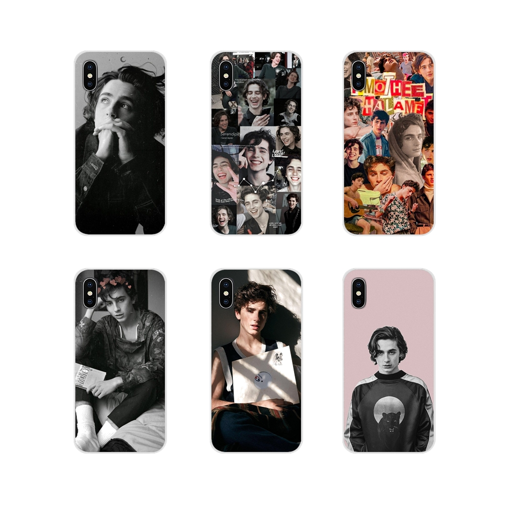 Timothee Chalamet For Apple iPhone X XR XS 11Pro MAX 4S 5S 5C SE 6S 7 8 Plus ipod touch 5 6 Accessories Phone Cases Covers