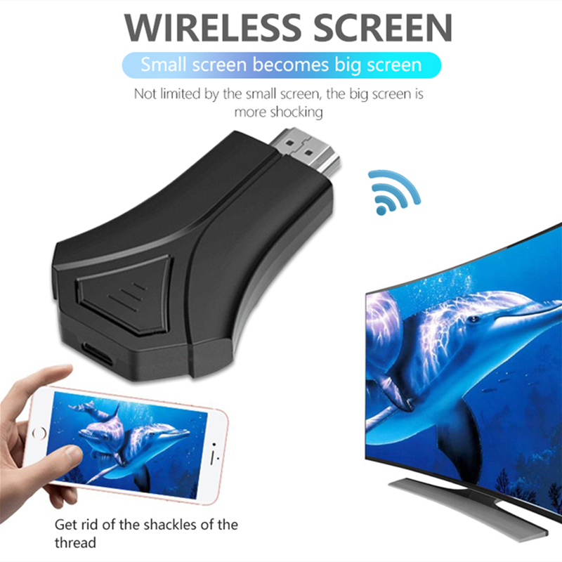K12 TV Stick Adapter Wifi Display Mirror Receiver Dongle Chromecast Wireless HD 1080p for Ios Andriod AirPlay MiraCast DLNA NEW - ANKUX Tech Co., Ltd