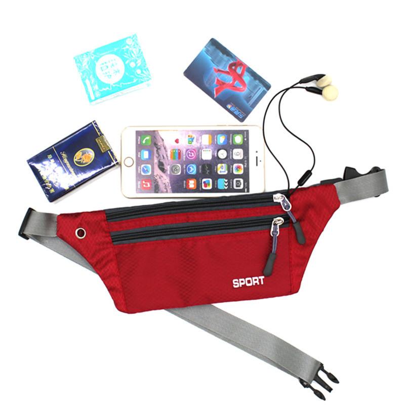 Hot Sale Fanny Pack Female New Sports Fashion Waterproof Chest Handbag Unisex Waist Bag Ladies Waist Packs Belly Belt Bags Purse