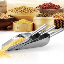 Candy-Clip Ice-Scoop Wedding-Party-Tool Stainless-Steel Ideal U-Shaped
