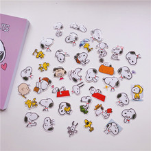 Ins 35 Sheets Kawaii Cartoon Puppy Label Sticker Pack Laptop Cup Mobile Phone Creative Decorative Seal Stickers Diy Stationery