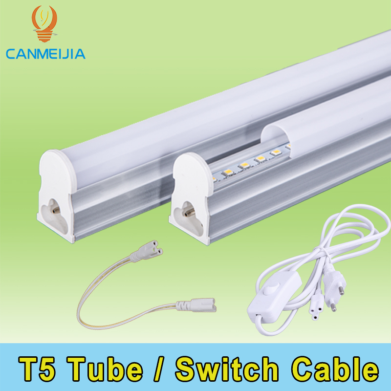 T5 T8 Led Tube Light 220V Lamp Switch Cable EU Standard Connector Cable For Integrated Tube Light Adapter Wall Lamp Home Light