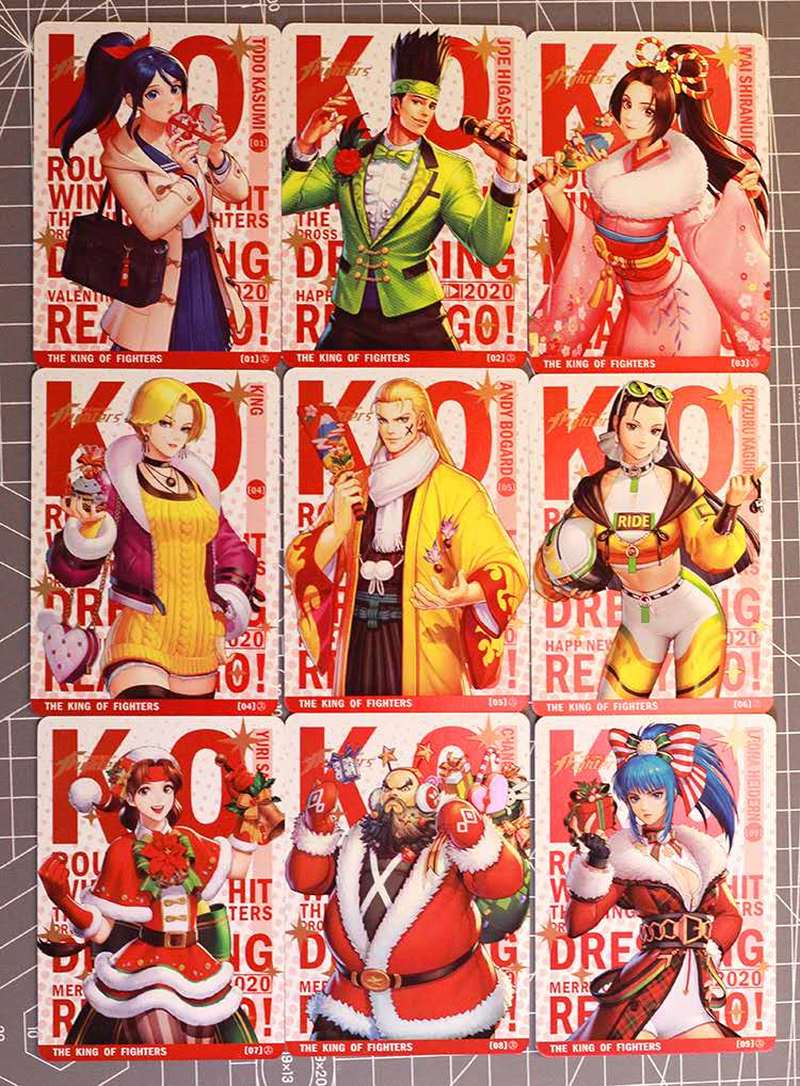 9pcs/set Snk The King Of Fighters 96 97 Cos Childhood Memories Hobby Collectibles Game Collection Anime Cards Free Shipping