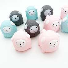 Japanese and Korean Cute Pink Kidding Vent Sheep Pinching Call Decompression Baby Playing Kids Toys for Girls Squeeze Toy Squish