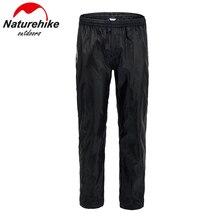 Naturehike Impermeabile Pioggia Su Pantaloni Pantaloni Da Trekking A Piedi Pesca di Inverno Del Motociclo Caldo di Poliestere