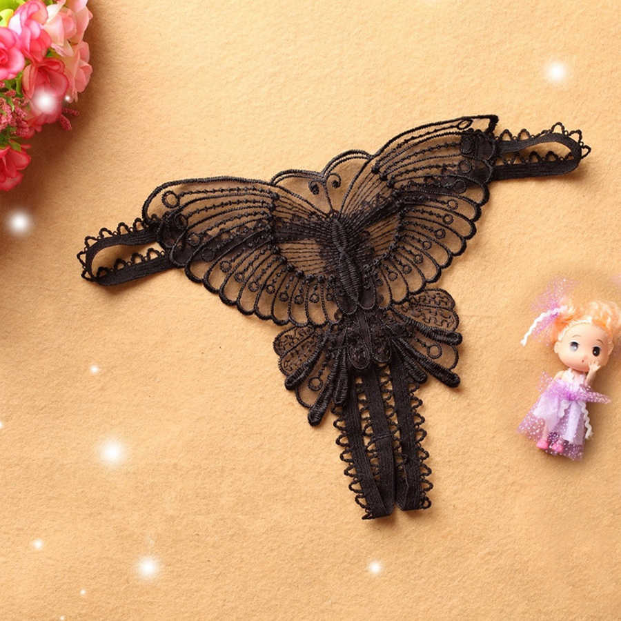 女性のセクシーなメッシュgストリング中空アウト蝶ひもパンティーショーツtangasランジェリー下着パンツ新スタイル2020