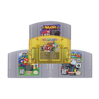 64 Bit Video Game Cartridge Console Card Mari Series Super 18 in 1/7 in 1 English Language US Version For Nintendo image