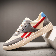 New Men Casual Shoes Flats Fashion Spring Sports Breathable White