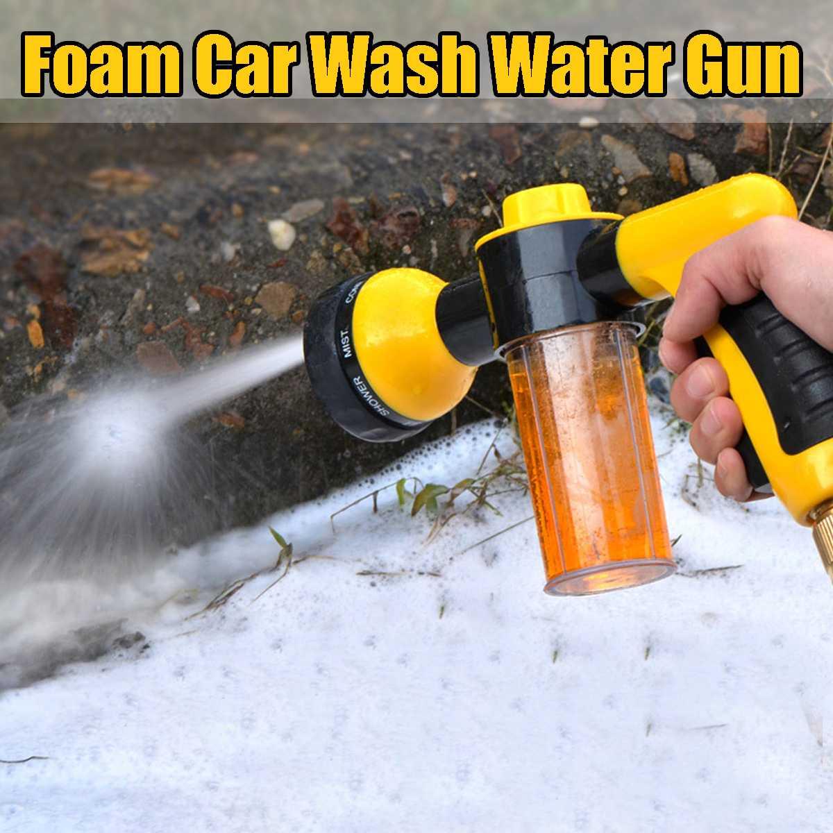 Tragbare Verstellbare Garten Schlauch Hochdruck Pistolen Sprinkler Düse Auto Wasser Spritzpistolen Auto Waschen Schlauch Garten Wasser Pistolen