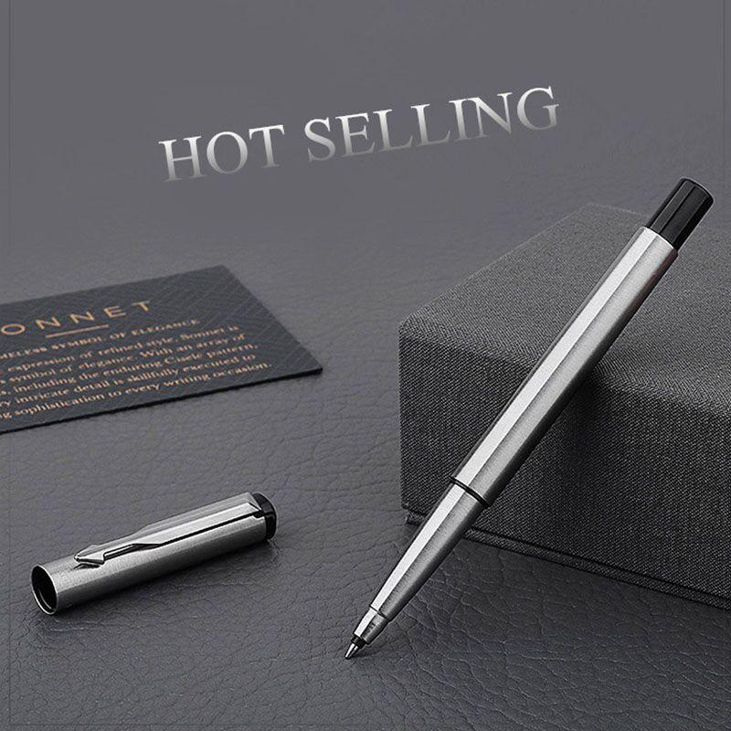 Novo vem boa qualidade caneta papelaria promoção canetas stoholee marca rolo caneta material de escritório como mesmo parker qualidade bola caneta