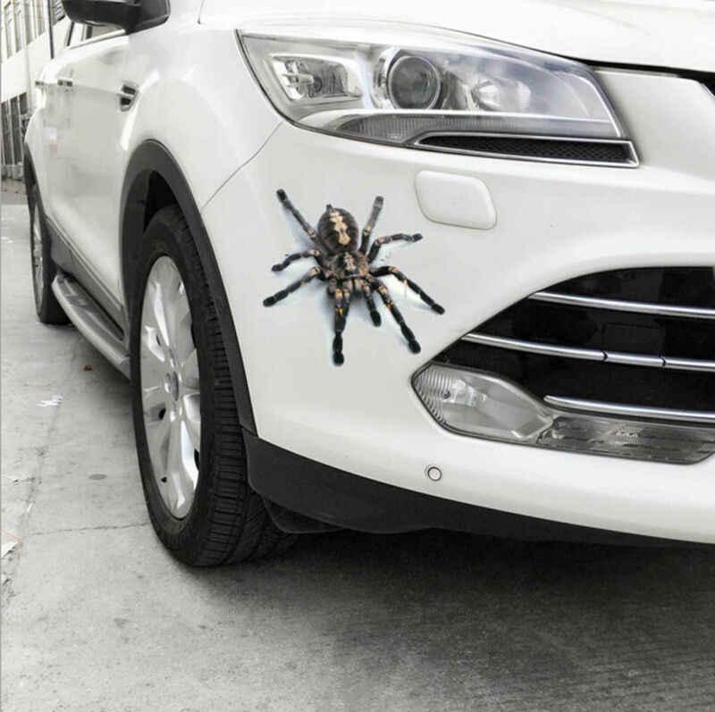 3D Автомобильная наклейка животные бампер паук Гекко скорпионы Abarth виниловая наклейка наклейки Автомобили Аксессуары для автомобилей и мотоциклов Наклейка на стену s