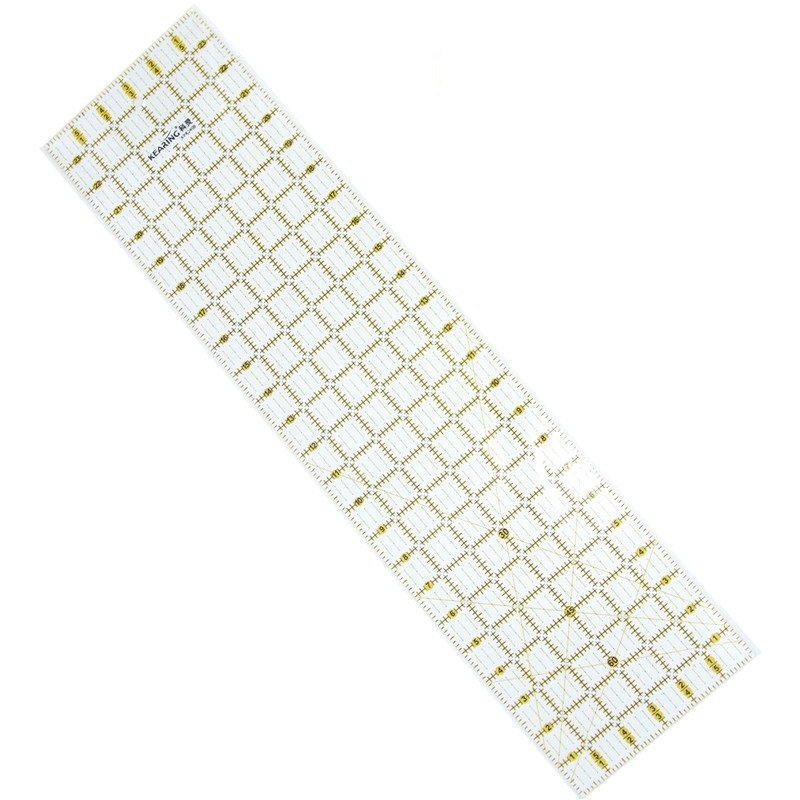 "24""*6"" Sewing Ruler Quilting Ruler Clear Acrylic Quilt Grid Ruler Sewing Measuring Tools  3mm Thickness KPR2406"