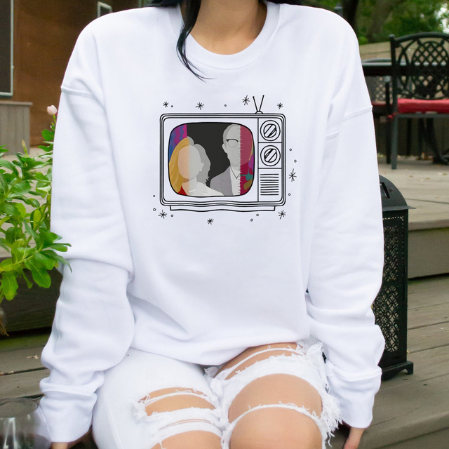 New Tv Show WandaVision Sweatshirt An Unusual Couple Wanda TV Graphic Crewneck Pullover Scarlet Witch Hoodie Hipster Tops 2