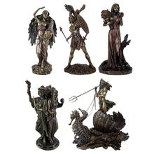 Antique Greek Goddess Statue Character Figurines Statues Greek Figurine Ornament for Home Decor