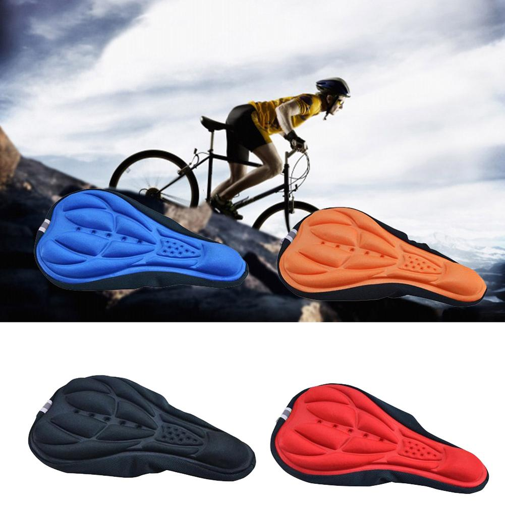 MTB Mountain Bike Seat Thickened Comfort Soft 3D Bicycle Saddle Cycling Pad ③