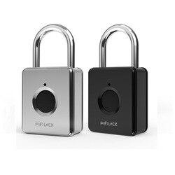 Smart Lock Keyless Fingerprint Lock Anti-Theft Security Padlock Door Luggage Case Bag Lock cerradura inteligente замок