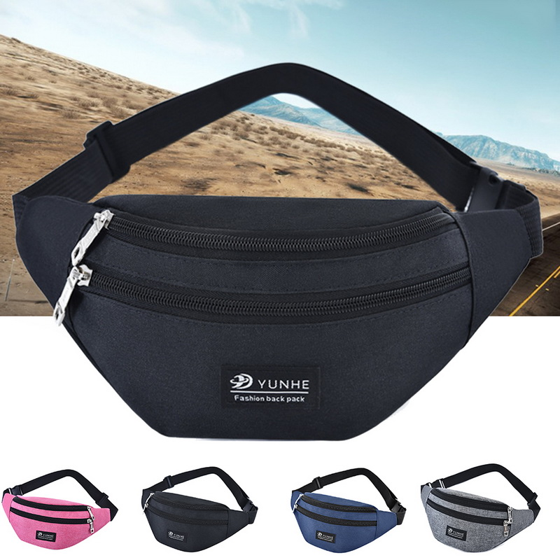 JODIMITTY 2020 Women Men Waist Bag Colorful Unisex Waistbag Belt Bag Mobile Phone Zipper Pouch Packs Belt Bags Free Shipping