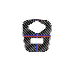 Для Mini Cooper JCW F55 F56 аксессуары для салона автомобиля из углеродного волокна прикуриватель USB AUX панель консоль крышка наклейка