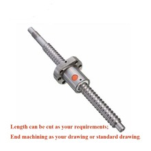 2505 ball screw 800/850mm with BK20BF20 end machining + SFU2505 nut for ball screw 2pcs lot ball screw sfu2505 set 2pc ballscrew sfu2505 l500mm without end machined 2pc sfu2505 ball nut