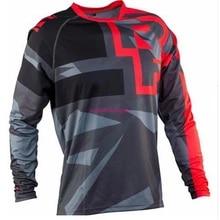MTB T-Shirt Bicycle Moto Mountain-Bike Long-Sleeve Mx-Off-Road FXR Jersey
