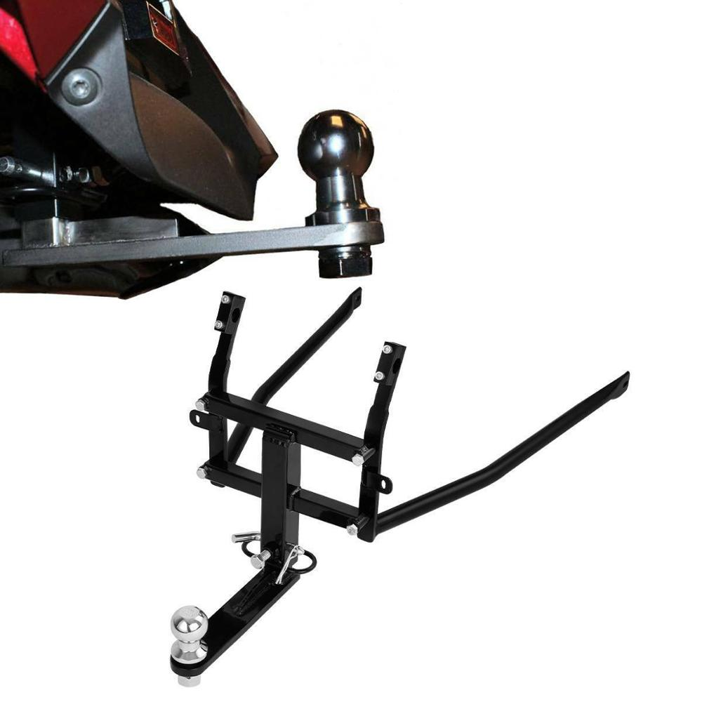 Motorcycle Rear Black Vertical Receiver Trailer Hitch Kit For <font><b>Honda</b></font> Goldwing <font><b>Gold</b></font> <font><b>wing</b></font> GL1800 <font><b>GL</b></font> <font><b>1800</b></font> 12-17 F6B 13-17 16 image