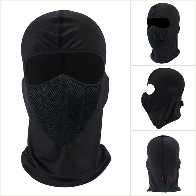 Winter Warmer Outdoor Windproof Ski Hat Beanies Unisex Autumn Motorcycle Cycling Balaclava Full Face Mask Neck Scarf Cap chapeau 3