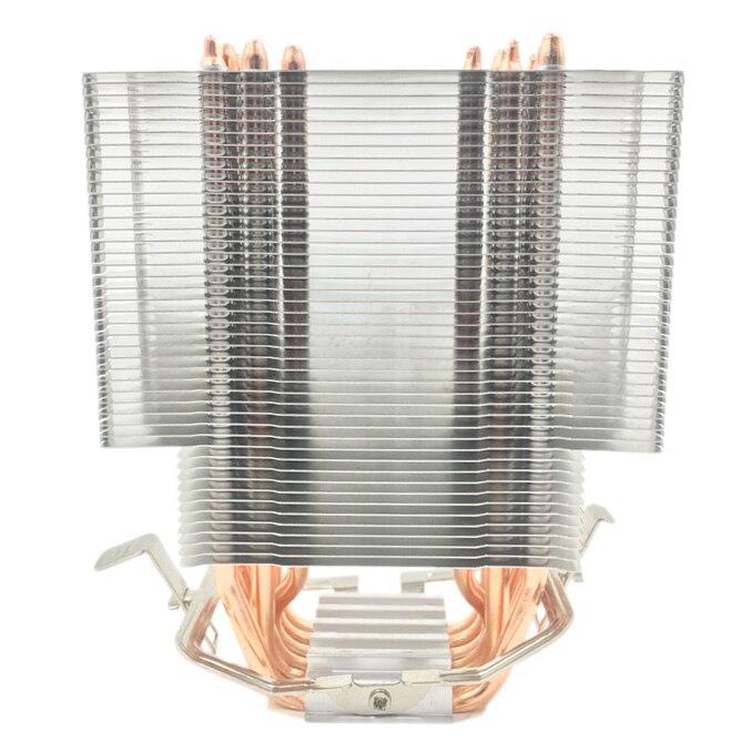 Кулер процессора без вентилятора 12 см 6 медных тепловых трубок безвентиляторный радиатор охлаждения для LGA 1150/1151/1155/1156/1366 AMD