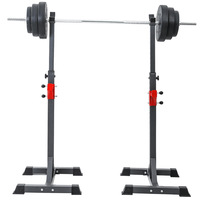 High-quality Adjustable Multifunction Split Type Squat Rack Weightlifting Barbell Rack Strength Training Fitness Equipments