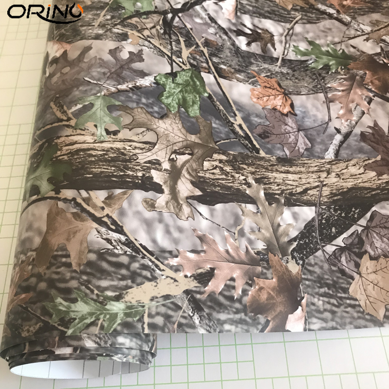 Film For Wrapping Self-adhesive Realtree Car Wrap Camo Shooting Hunting Skin Wraps Universal DIY Vinyl Kit